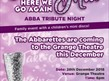 Abba Tribute Night with The Abarettes at Grange Theatre, Oldham