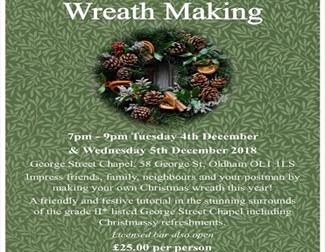 Age UK Oldham - Christmas Wreath Making