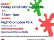 Half Term Activities @ High Crompton Park
